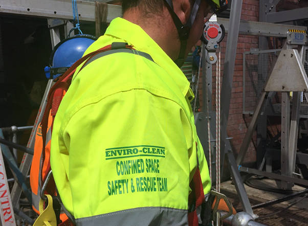 CONFINED SPACE SUPERVISION & RESCUE